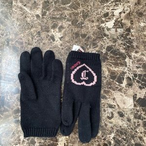 Women's Juicy Couture gloves size L